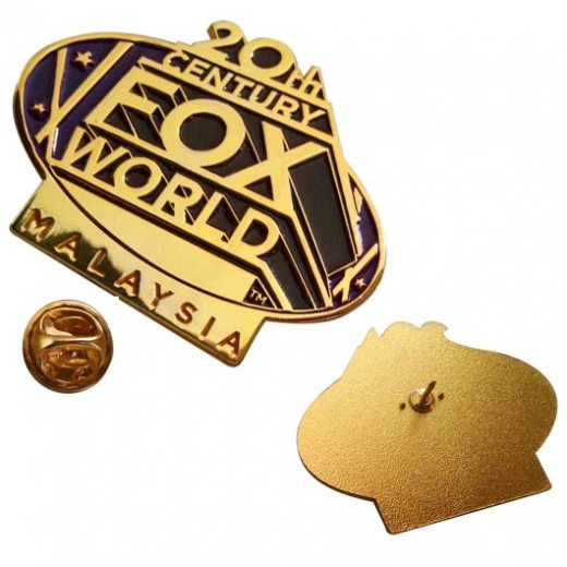 Moulded & Polished Lapel Pins