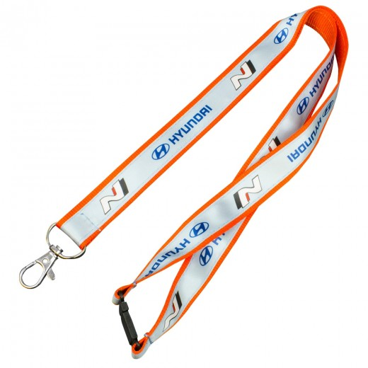 Satin Applique Lanyards