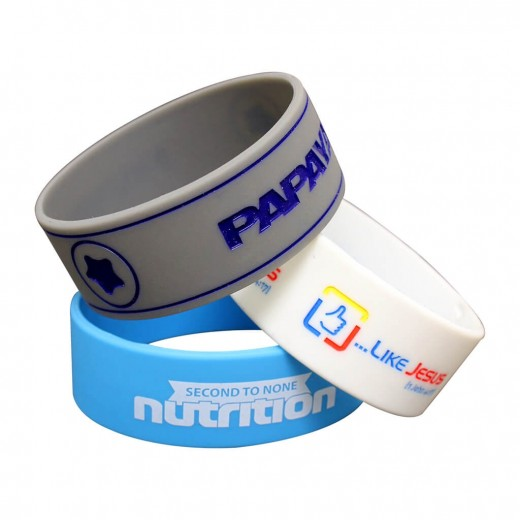 Silicone Thick Wristbands