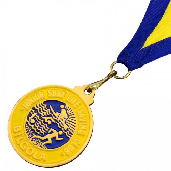 Enamel Ink Filled Medals | Order Custom Branded Today