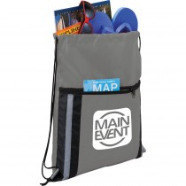Deluxe Reflective Drawstring Sportspack