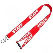Pre-Printed Staff Lanyards (15mm)