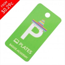 Plastic Membership Key Tags