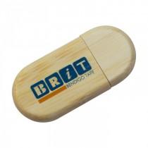 USB Eco Wood Capped