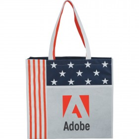 National Flag Non-Woven Convention Tote