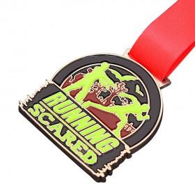 Enamel Ink Filled Medals