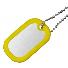 Dog Tag w/ Silicone Cover
