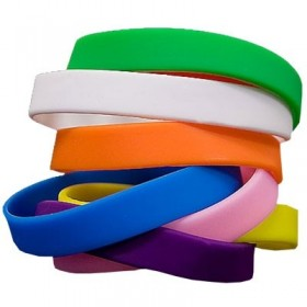 Plain Silicone Wristbands