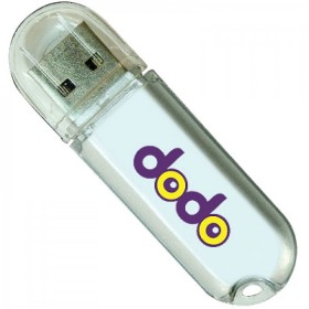 Plastic USB Rounded