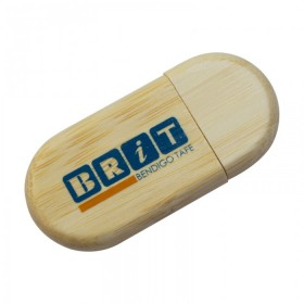 USB Eco Wood Capped